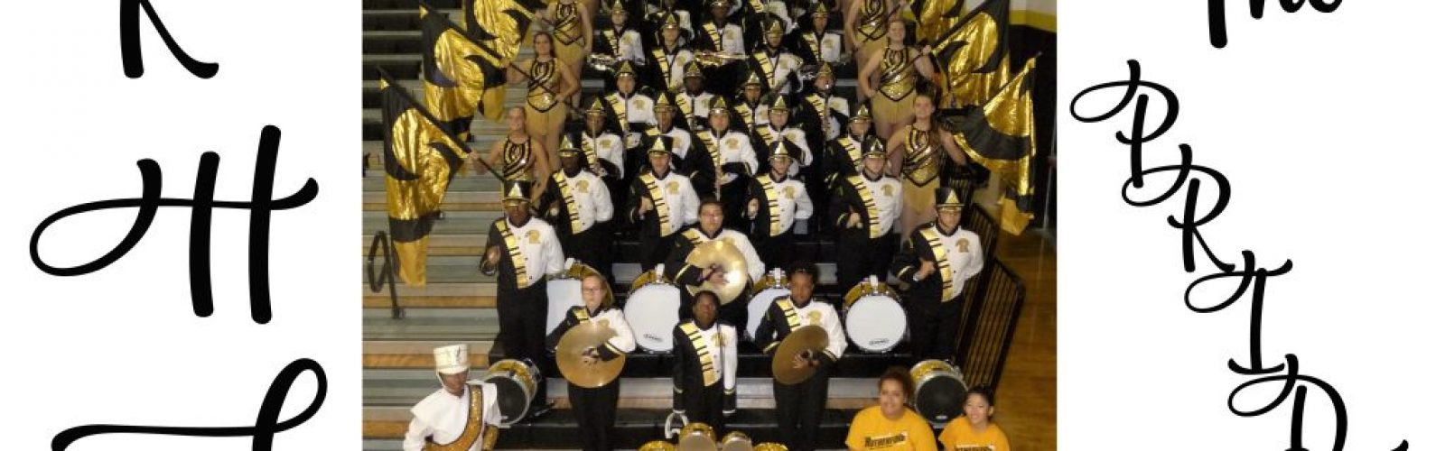 "the Rutherford High School Band ""The PRIDE"" Panama City FL."